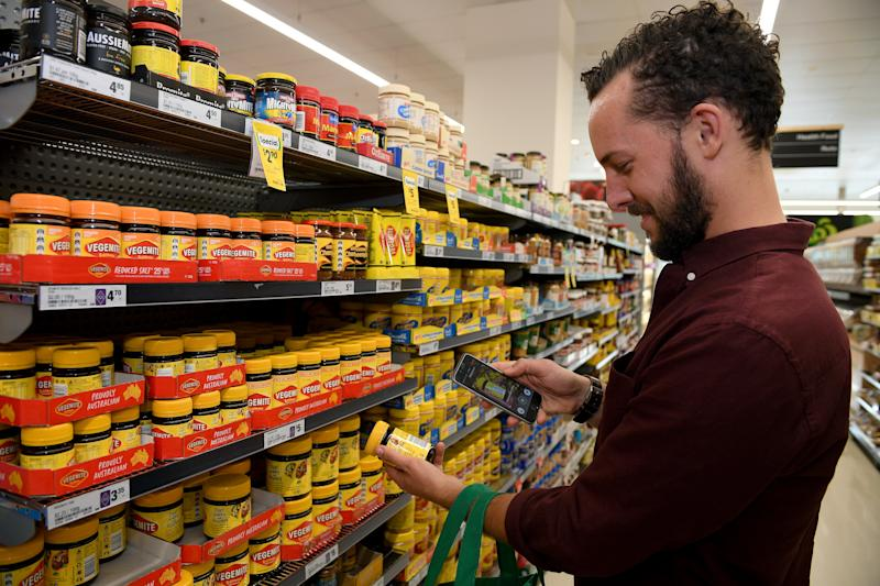 Shoppers are looking to support Australian products amid the pandemic. Source: AAP
