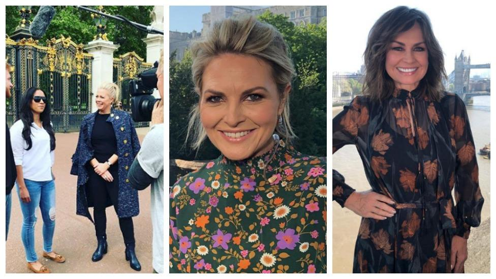 <p>Samantha Armytage, Georgie Gardner and Lisa Wilkinson pulled out all the fashion stops. Source: Instagram </p>