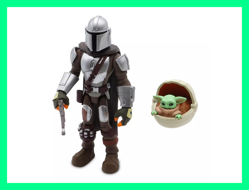 Shop The Mandalorian and the Child Action Figure Set for $15. (Photo: ShopDisney)