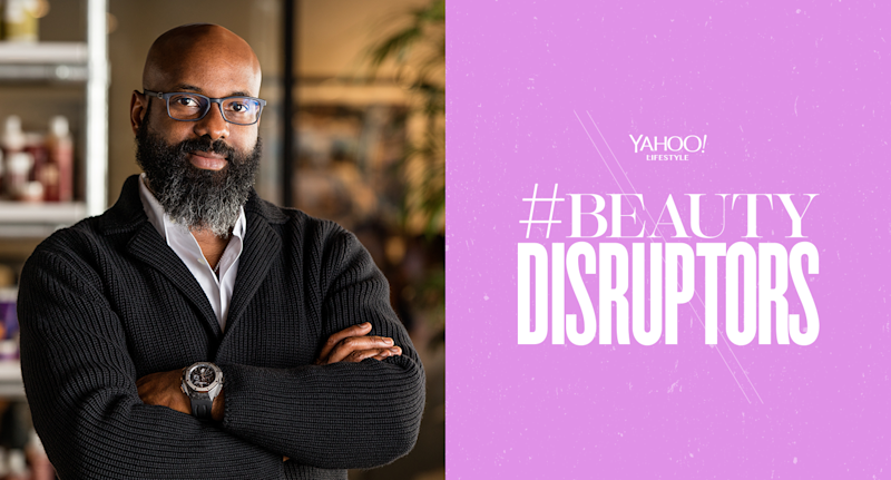 Richelieu Dennis went from selling soaps on Harlem street corners to building one of the biggest multicultural beauty companies in the country. (Photo: Sundial Brands / Graphic: Quinn Lemmers for Yahoo Lifestyle)