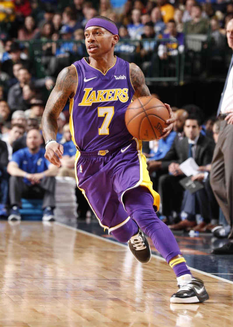 Lakers' Isaiah Thomas: 'All you need is 1 team to love you'