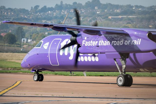 Flybe is struggling. Photo: PA