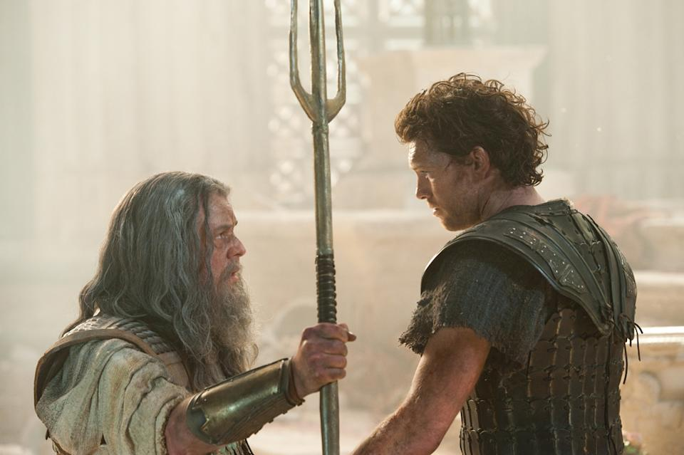 "Danny Huston and Sam Worthington in Warner Bros. Pictures' <a href=""http://movies.yahoo.com/movie/wrath-of-the-titans/"" data-ylk=""slk:Wrath of the Titans"" class=""link rapid-noclick-resp"">Wrath of the Titans</a> - 2012"