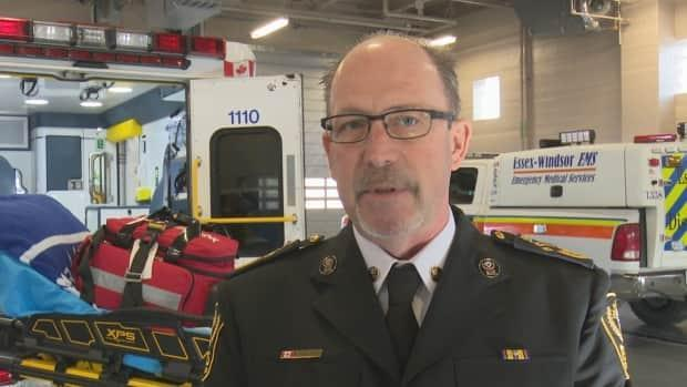 Essex-Windsor EMS Chief Bruce Krauter says his staff are working in partnership with Windsor Regional Hospital CEO David Musyj to coordinate any future transports needed.