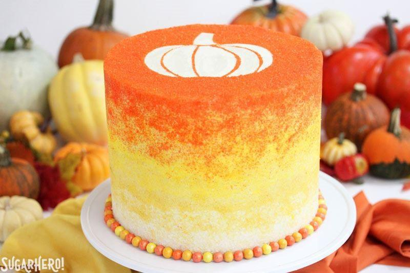 """<p>Making a cake shaped like a pumpkin is easier than you think, with these recipes and tips! Plus, don't stop there, delight little ghouls with <a rel=""""nofollow"""">spooky-cute cupcakes</a>, celebrate <a rel=""""nofollow"""">day of the dead</a> or find ways to <a rel=""""nofollow"""">use up your leftover candy</a> - all in our collection of <a rel=""""nofollow"""" href=""""http://www.delish.com/holiday-recipes/halloween/"""">Halloween party eats</a>.</p>"""