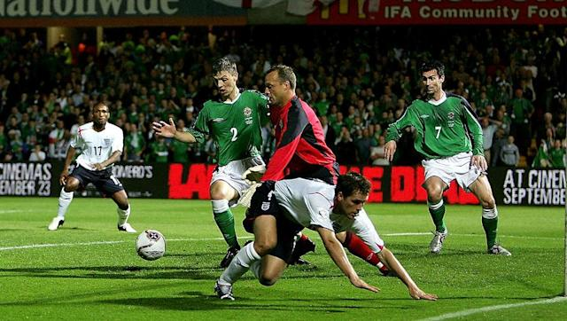 <p>Northern Ireland's stock may have risen over the last few years, but they were once considered to be the lesser of all of the Home Nations. </p> <br><p>When England travelled to Windsor Park in September 2005 for a World Cup qualifier, many expected them to ease past Lawrie Sanchez's men. However, despite the vast difference in quality between the two teams, the home side put in an inspired display and claimed a famous victory when David Healey fired home in the 73rd minute to leave Sven Goran Eriksson and his players stunned. </p> <br><p>Though it did not prevent the Three Lions from qualifying for the 2006 World Cup, it remains one of their more embarrassing defeats in recent history and was indicative of how a 'golden generation' of players failed to live up to the hype. </p>