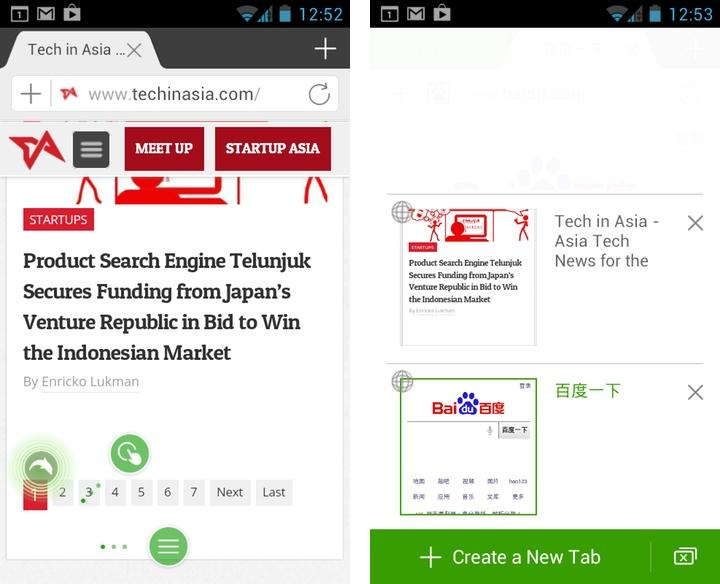 Dolphin Browser v10 Android