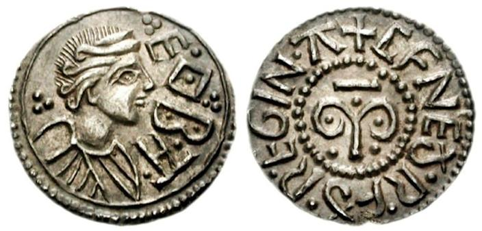 Cynethryth was the only Anglo-Saxon queen to have her face on coinag