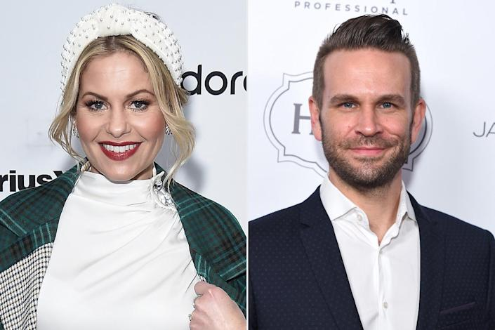 """<p><strong>Premieres:</strong> Nov. 28 at 8 p.m. ET/PT, Hallmark Channel</p> <p><strong>Stars:</strong> Candace Cameron Bure, John Brotherton, Barbara Niven </p> <p><strong>Contains:</strong> Reigniting of old flames, competition, <em>Fuller House</em> mini-reunion</p> <p><strong>Official description:</strong> """"Exes Lara and Ben compete in a Christmas contest to win money for the charity of their choosing. The city watches them battle and choose what is more important, victory or love.""""</p>"""