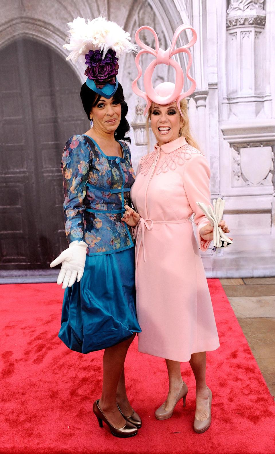 Like we said, morning TV hosts take Halloween <em>very</em> seriously. Just take one look at Kathie Lee Gifford and Hoda Kotb as royal wedding guests Princesses Beatrice and Eugenie back in 2011. Though their costume isn't the most timely pop-culture reference, it <em>is</em> fun. Wear your best dress and a fancy hat and you're all set.