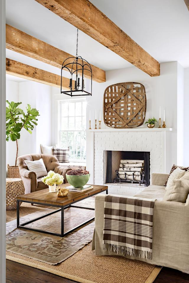 "<p>Come fall, you might be inclined to decorate with layers of texture, transition your home's color palette from energetic hues to earth tones, and even <a href=""https://www.goodhousekeeping.com/home/g30224103/11-relaxing-and-cozy-reading-corner-ideas/"" target=""_blank"">carve out a cozy nook</a> that's perfect for lounging. Autumn presents an opportunity to make the most of more time spent indoors, which means finding ways to <a href=""https://www.goodhousekeeping.com/home/decorating-ideas/g2716/fall-decorations/"" target=""_blank"">make your home more cozy</a> and welcoming. Believe it or not, this doesn't mean you have to blow your budget. One of the best places to start? Your living room mantel. </p><p>Fall mantel decorating is all about being creative, whether you choose to bring in the outdoors by incorporating foliage or stick to classic accessories like <a href=""https://www.goodhousekeeping.com/holidays/halloween-ideas/g1714/no-carve-pumpkin-decorating/"" target=""_blank"">vibrant pumpkins</a> and candles. Browse some of our favorite fall mantel decor ideas that showcase the beauty of the season. </p>"