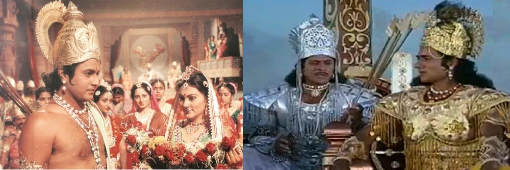 Mahabharat and Ramayan – Those were the days when there was only one color television in my building and it was at Akhtar uncle's. I remember how his drawing room hosted all 20 of us when we gathered to watch these epics in color, with his wife serving tea and biscuits relentlessly. Yes, during those days people actually visited each other, as opposed to today's profile visits.