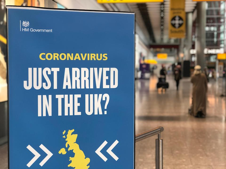 Welcome to Heathrow: the sign awaiting the writer's arrival (Simon Calder)