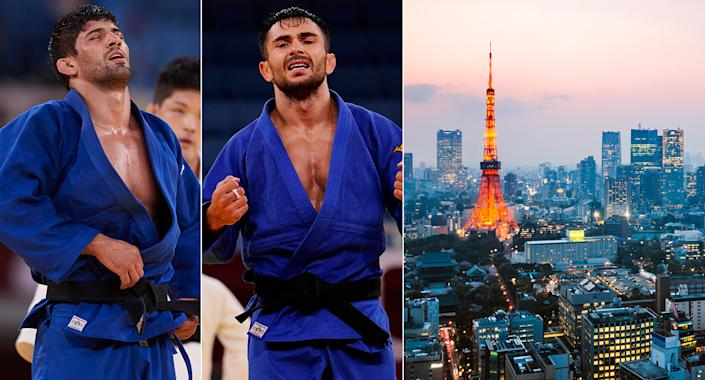 Two Judo stars Tokyo sightseeing banned from Olympics