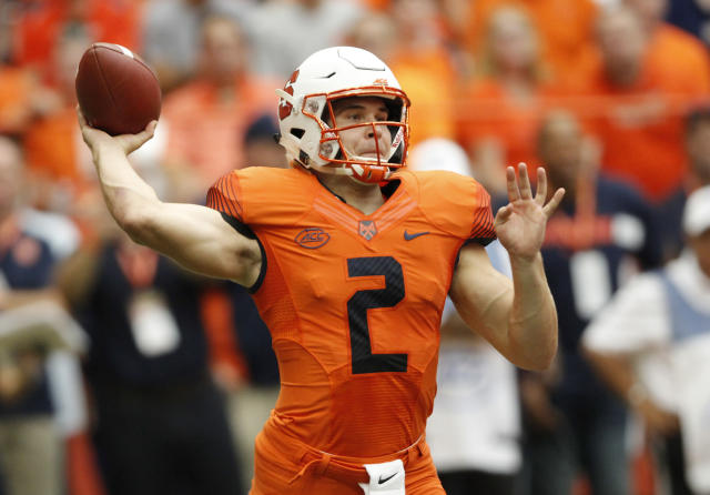 Eric Dungey and the Orange almost pulled off an upset of Clemson on Saturday. (AP)