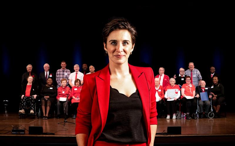 Vicky McClure hosts Our Dementia Choir - WARNING: Use of this copyright image is subject to the terms of use of BBC Pictures' Digital Picture