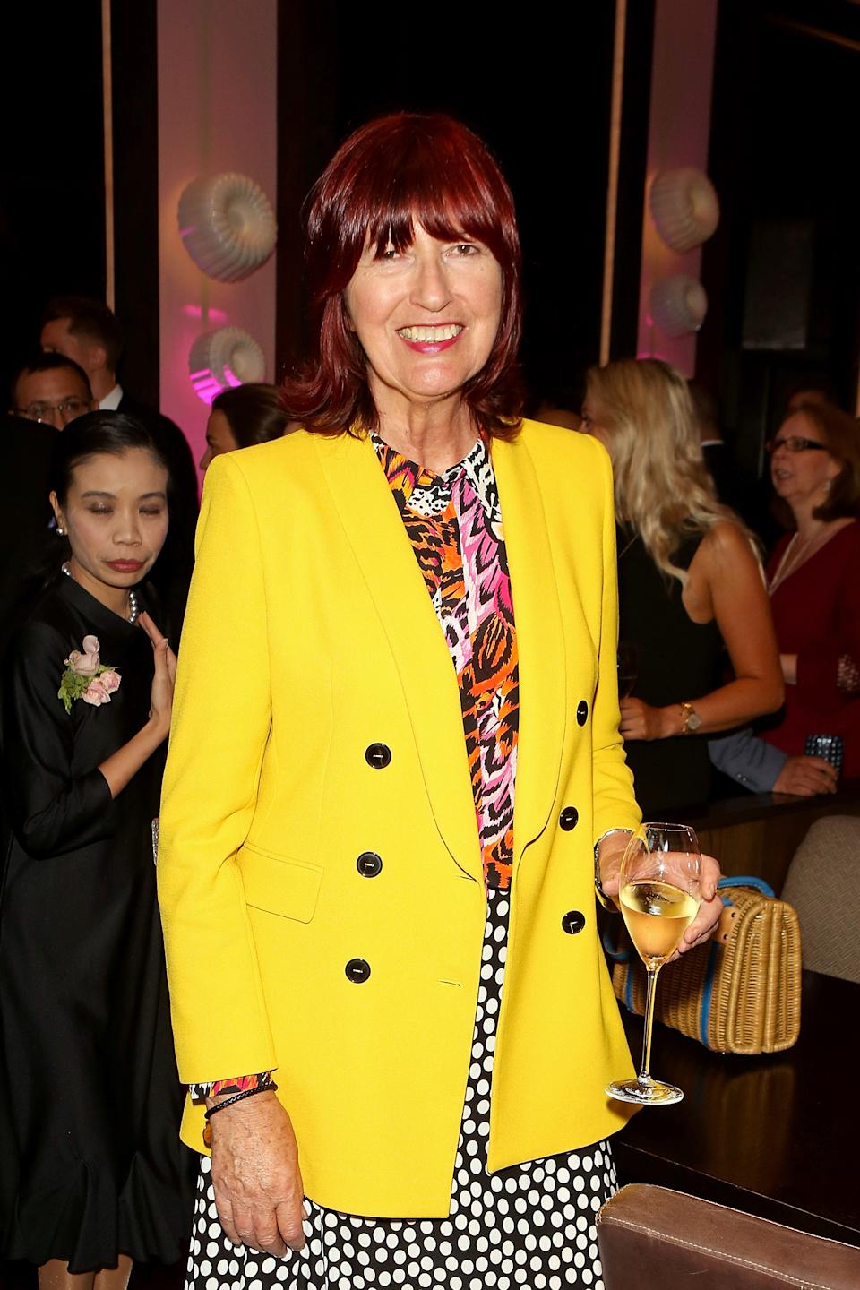 Janet Street Porter attends the Reinvented and Reimagined Mandarin Oriental Hyde Park, London relaunch party on June 11, 2019 in London, England. (Photo by David M. Benett/Dave Benett/Getty Images for Mandarin Oriental Hyde Park)