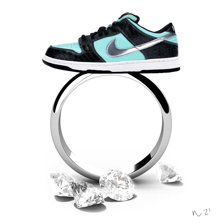 Diamond Supply Co. & Nike Tiffany SB Dunks