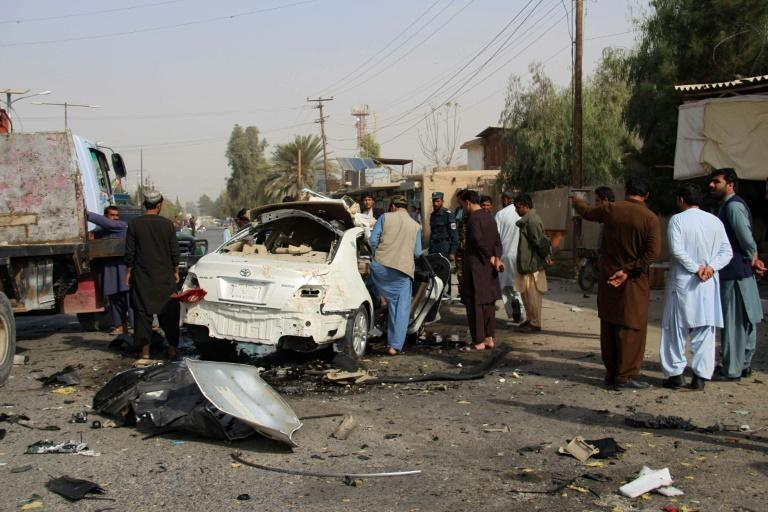 US President Donald Trump reportedly wants to cut more US troops in Afghanistan depspite the continuing violence, like this recent bombing in Lashkar Gah that killed an Afghan journalist