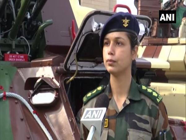 Captain Preeti Choudhary in conversation with ANI. (Photo/ANI)
