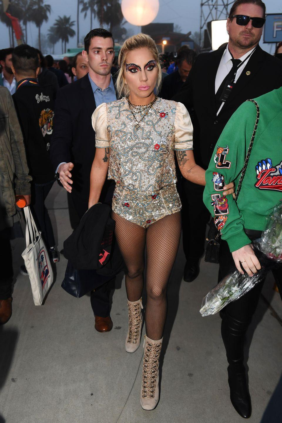 <p>At the Tommy Hilfiger show, February 2017, in Venice, California.</p>