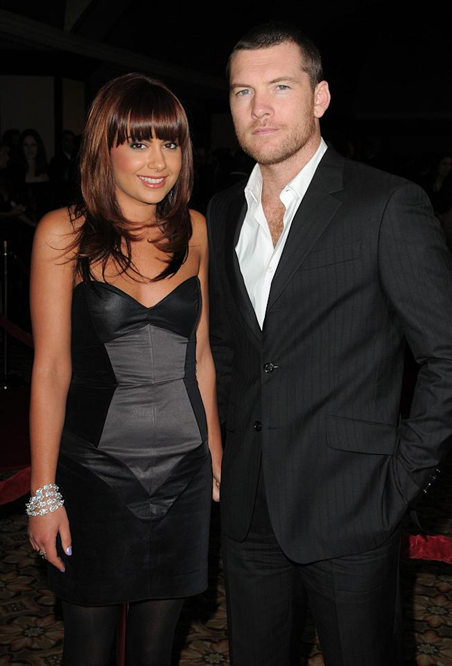 """<a href=""""http://movies.yahoo.com/movie/contributor/1800424136"""">Sam Worthington</a> and guest at the 62nd Annual Directors Guild of America Awards in Century City, California on January 30, 2010."""