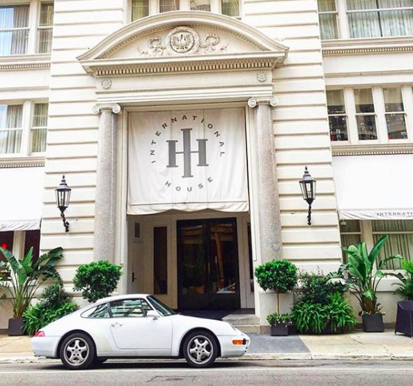 This hotel has a whole bunch of history and is a short stroll from the musical mayhem of Bourbon Street. Source: Instagram/InternationalHouseHotel