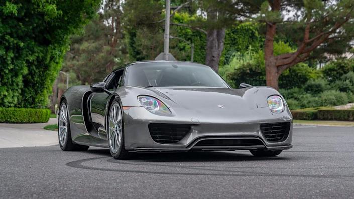 The model's original base price was 5,000, making it the most expensive production car from Porsche. - Credit: Photo: Courtesy of CollectingCars.com.