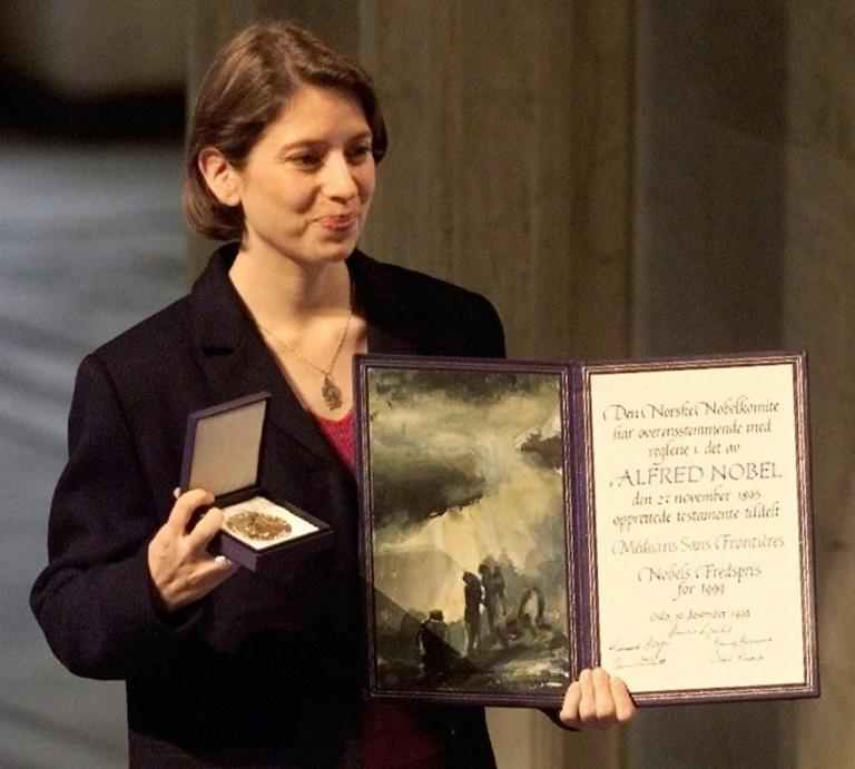 In 1999, MSF was awarded the Nobel Peace Prize