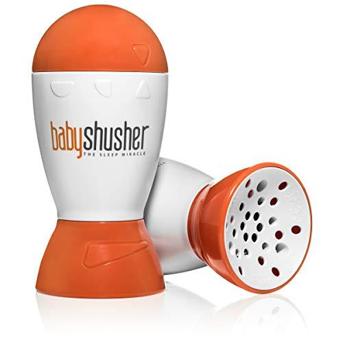 """<p><strong>Baby Shusher</strong></p><p>amazon.com</p><p><strong>$34.99</strong></p><p><a href=""""http://www.amazon.com/dp/B00D2JN87I/?tag=syn-yahoo-20&ascsubtag=%5Bartid%7C2141.g.28614369%5Bsrc%7Cyahoo-us"""" target=""""_blank"""">Shop Now</a></p><p>If your mom-to-be already has a sound machine in mind, the award-winning Baby Shusher is great for specific task areas (the diaper changing table) or to keep in the diaper bag for travel. It <strong>soothes using a human voice (think of a soft """"hush"""" sound), and can be set for up to 30 minutes</strong>. It's made from easy-to-clean, BPA free material and comes with two AA batteries needed to use right out of the box. </p>"""