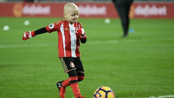 Sunderland fan Bradley Lowrey has received some great news as he has been selected to be part of a special cell trial that could be life saving. The five-year-old, who suffers from neuroblastoma, has captured the hearts of football fans worldwide and he could receive new treatment in the near future. Bradley made an appearance at Wembley Stadium a week ago as he walked out with Sunderland skipper Jermain Defoe in England's World Cup qualifier against Lithuania. In a message (via the...