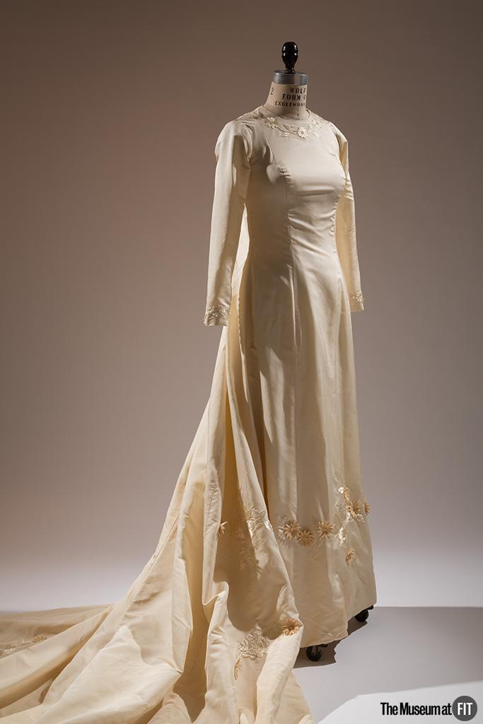Ann Lowe Wedding Dress at Museum at FIT