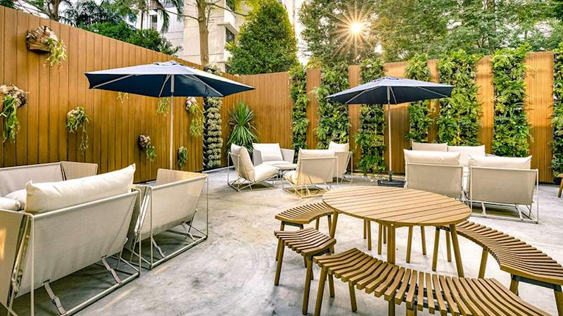 """More greenery and privacy in the """"backyard"""". (PHOTO: Hmlet)"""