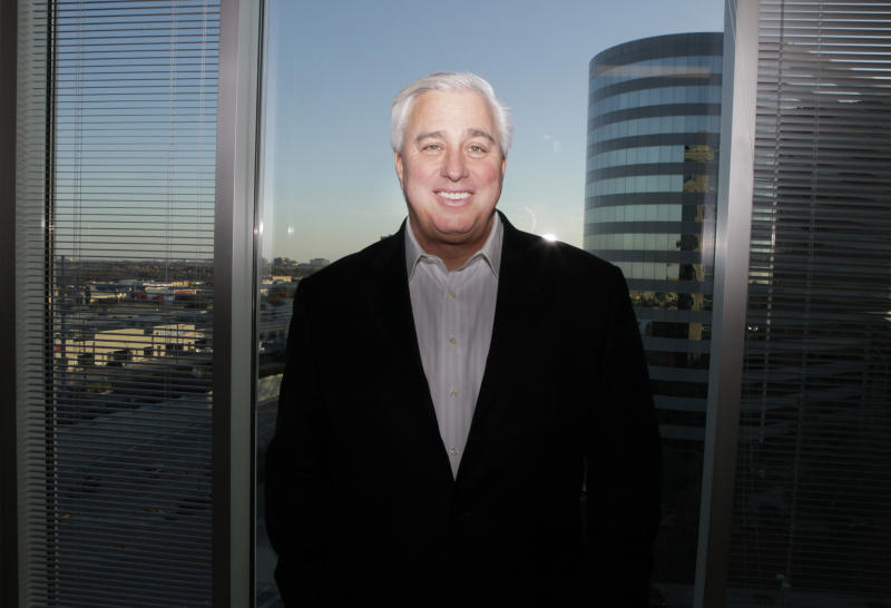 Ed Butowsky at his office in Dallas, Texas in 2010. (Photo: LM Otero/AP)