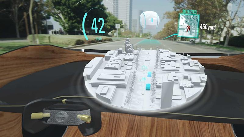 nissan invisible to visible interface