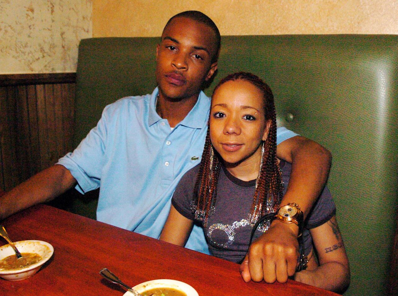 <p>Way back in 2001, the King of the South and the Xscape singer made their debut as young lovers as happy as can be.</p>