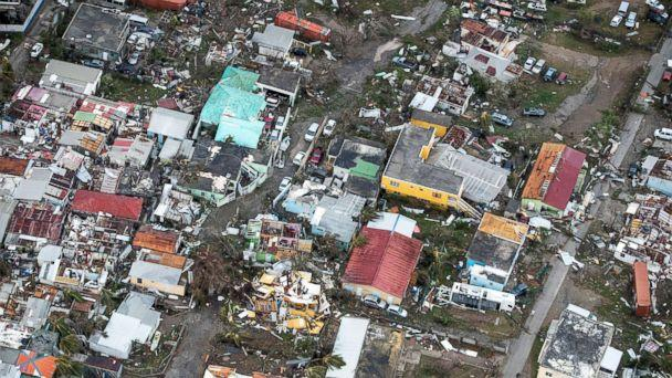 PHOTO: A view of the aftermath of Hurricane Irma on Sint Maarten Dutch part of Saint Martin island in the Caribbean, Sept. 6, 2017. (Netherlands Ministry of Defense via Reuters)