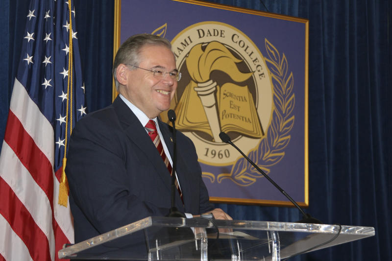 Menendez' bill could have aided donor's investment