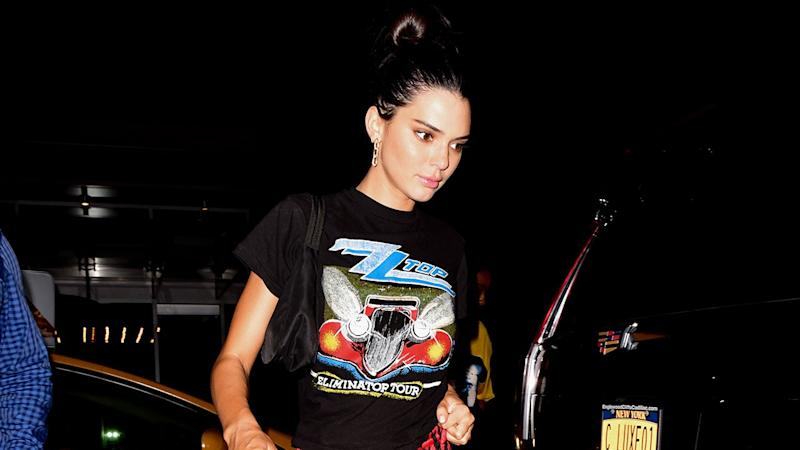 e22e925638c7 Kendall Jenner Just Wore Leopard Pants in the Most Rock 'n' Roll Way