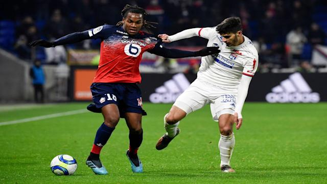 Renato Sanches Martin Terrier Lyon Lille Ligue 1 03122019