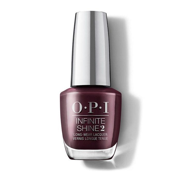 """<p>Part of OPI's Fall 2020 collection, Muse of Milan, this burgundy hue is called Complimentary Wine. The shade comes bottled in the brand's Infinite Shine formula, meaning this deep berry red will give off a gel-like shine without the harsh UV lights. Did I mention you only need one coat? It's <em>that</em> pigmented.</p> <p><strong>$11</strong> (<a href=""""https://shop-links.co/1715495875243190942"""" rel=""""nofollow noopener"""" target=""""_blank"""" data-ylk=""""slk:Shop Now"""" class=""""link rapid-noclick-resp"""">Shop Now</a>)</p>"""