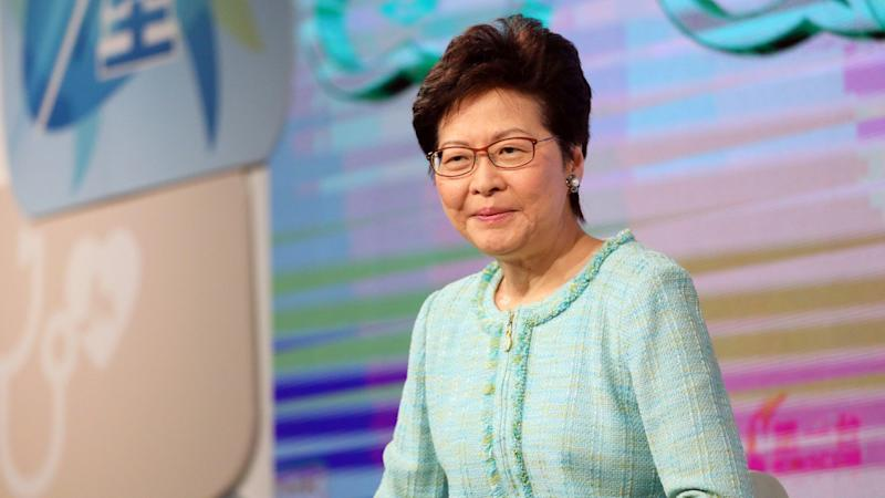 Hong Kong leader Carrie Lam urges public to give migrants from mainland China a chance, saying they have contributed to economic success over the years