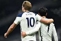 Harry Kane and Son Heung-min are in red-hot form for Premier League leaders Tottenham