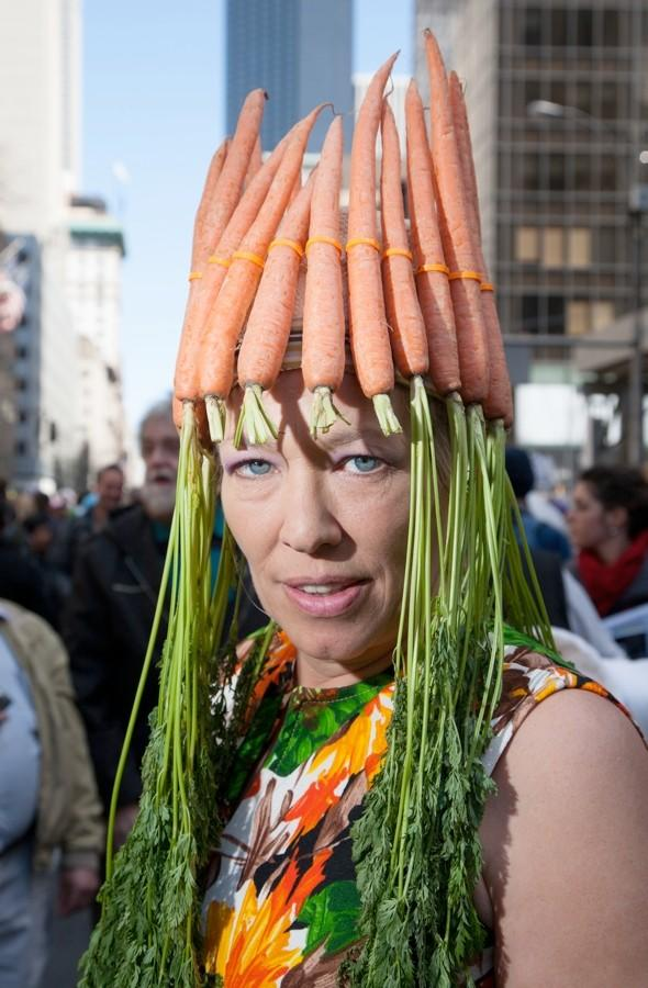 Crazy pics: Have you ever heard of the Easter Bonnet Festival?