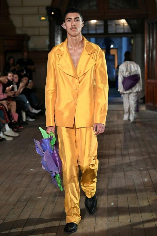 French fashion label Neith Nyer favours bright colours in its designs