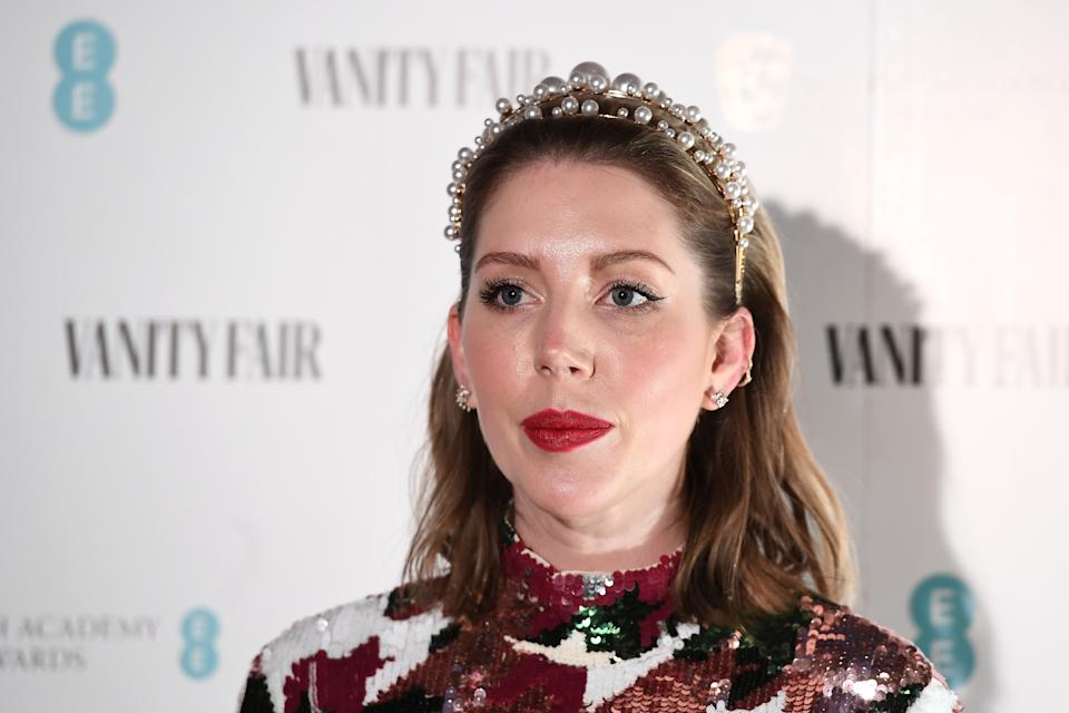 Katherine Ryan attends the Vanity Fair EE Rising Star BAFTAs Pre Party at The Standard on January 22, 2020 in London, England. (Photo by Jeff Spicer/Getty Images)