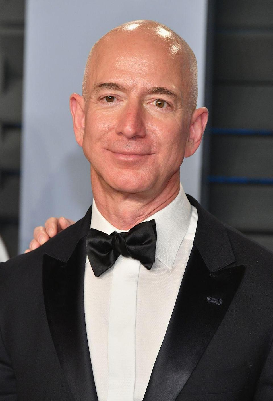 """<p>Before he was one of the <a href=""""https://www.cbsnews.com/pictures/richest-people-in-world-forbes/21/"""" rel=""""nofollow noopener"""" target=""""_blank"""" data-ylk=""""slk:world's richest men"""" class=""""link rapid-noclick-resp"""">world's richest men</a>, Bezos worked at McDonald's. In an interview <a href=""""http://goldenopportunitybook.com/jeffrey-p-bezos/"""" rel=""""nofollow noopener"""" target=""""_blank"""" data-ylk=""""slk:with Teets"""" class=""""link rapid-noclick-resp"""">with Teets</a> for <a href=""""https://www.amazon.com/Golden-Opportunity-Remarkable-Careers-McDonalds/dp/1604332794?tag=syn-yahoo-20&ascsubtag=%5Bartid%7C10063.g.36700579%5Bsrc%7Cyahoo-us"""" rel=""""nofollow noopener"""" target=""""_blank"""" data-ylk=""""slk:Golden Opportunity: Remarkable Careers That Began at McDonald's"""" class=""""link rapid-noclick-resp""""><em>Golden Opportunity: Remarkable Careers That Began at McDonald's</em></a>, he said that the Saturday morning shift was his favorite: """"I would get a big bowl and crack 300 eggs in it,"""" he recalled.</p>"""