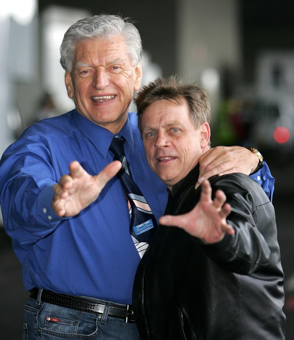 Dave Prowse and Mark Hamill pictured in 2007 (Photo: Shutterstock)