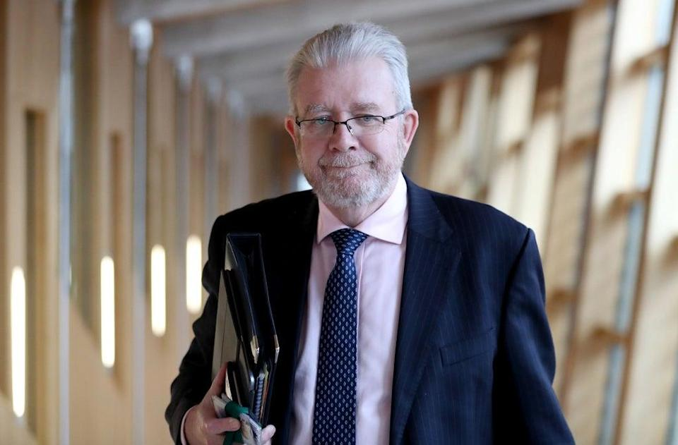 SNP president Mike Russell told the party it should work 'hand in hand' with other pro-independence factions to secure and win another referendum (Jane Barlow/PA) (PA Archive)