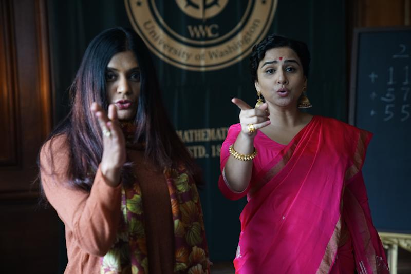 Anu Menon and Vidya Balan (Photo: )